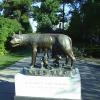 Капитолиийская волчица в Цинциннати