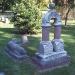Преданная собака на кладбище