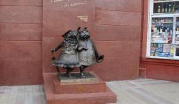 Памятник влюбленным собакам